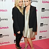 Mary-Kate Olsen and Ashley Olsen attended JC Penney's FNO party.