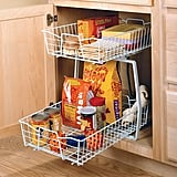 ClosetMaid Wide 2-Tier Cabinet Organizer