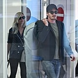 Kirsten Dunst and Garrett Hedlund landed in Cannes.