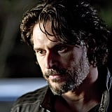 Joe Manganiello as Alcide on True Blood.