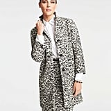 Ann Taylor Animal Jacquard Coat ($225, originally $278)