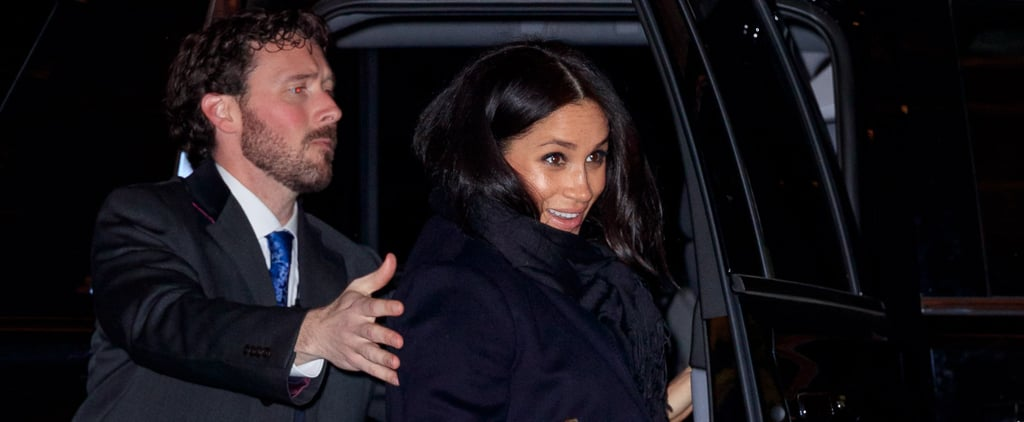 Meghan Markle Wears Black Boots in New York City Feb. 2019