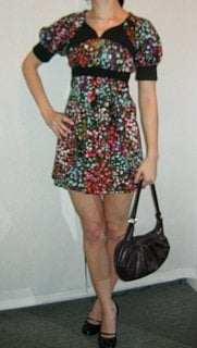 Look of the Day: Sassy Floral Mini
