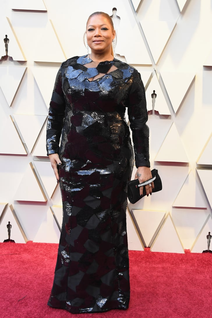 queen latifah oscars jewelry and accessories 2019. Black Bedroom Furniture Sets. Home Design Ideas