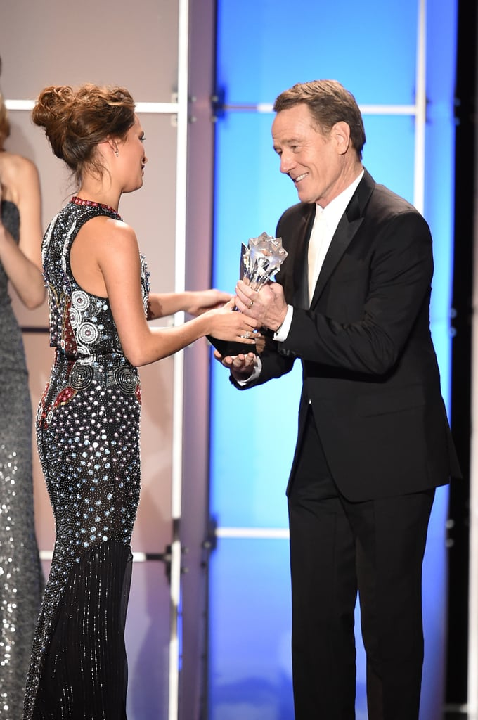 Alicia Vikanders Dress At Critics Choice Awards 2016