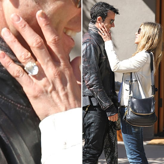 Jennifer Aniston Huge Engagement Ring | Pictures