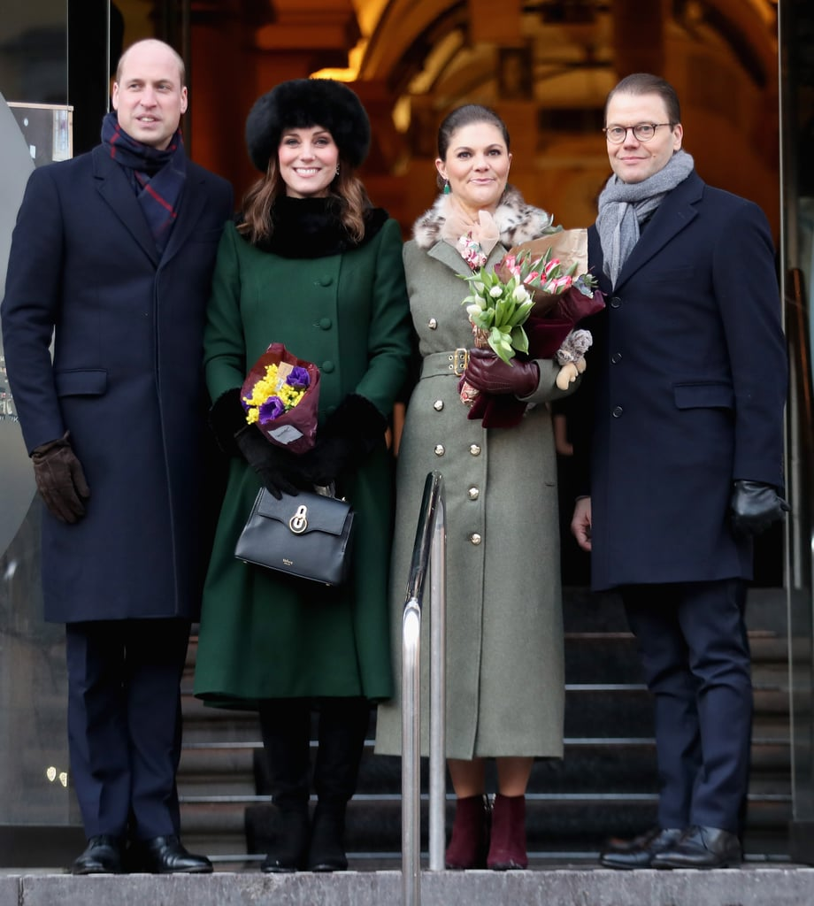 Kate Wrapped Up Warmly to Go to the Museum in Stockholm