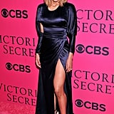 Ciara showed some leg on the red carpet in 2013.