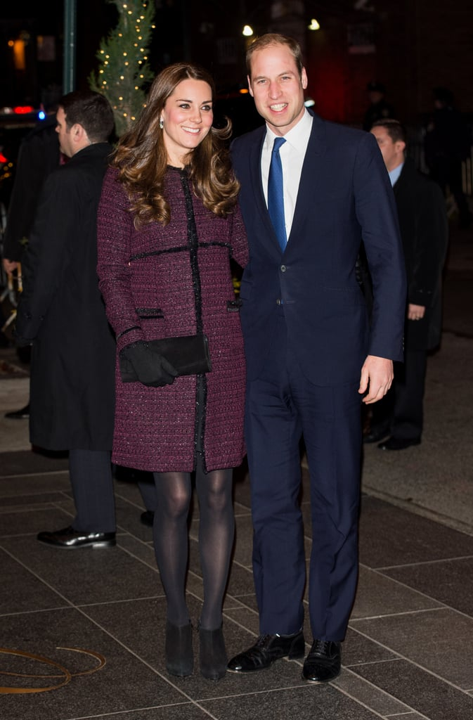 Kate Debuted This Seraphine Coat in 2014 in New York City