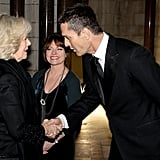 Camilla, Duchess of Cornwall and Rupert Everett