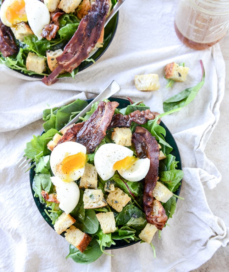 Kale salad with bacon and soft boiled eggs dinner recipes that kale salad with bacon and soft boiled eggs dinner recipes that serve 2 popsugar food photo 5 forumfinder Choice Image