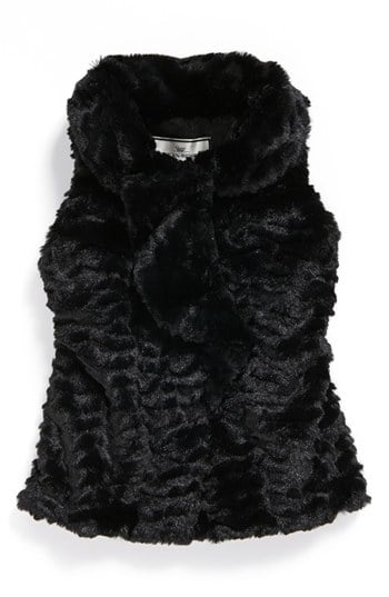 Widgeon Ruffled Faux Fur Vest