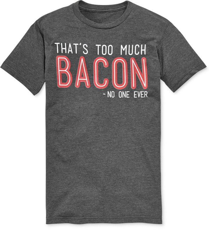 Bioworld Big and Tall Bacon Graphic T-Shirt ($30)