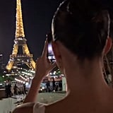 Cara Delevingne Snapped Kendall Snapping the Eiffel Tower — Pretty Cool