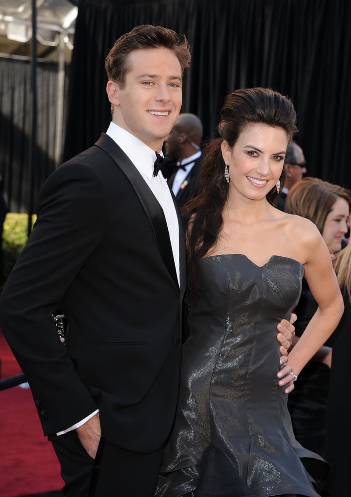 Armie Hammer Gets Social on the Red Carpet With His Wife!
