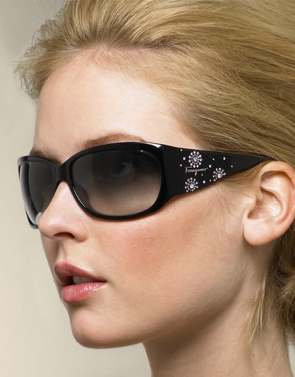 Trend Alert: Bejeweled Wraparound Sunglasses