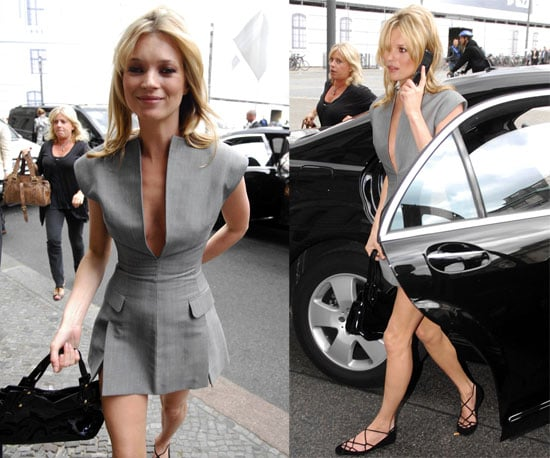 Kate Moss in Berlin Before Holiday