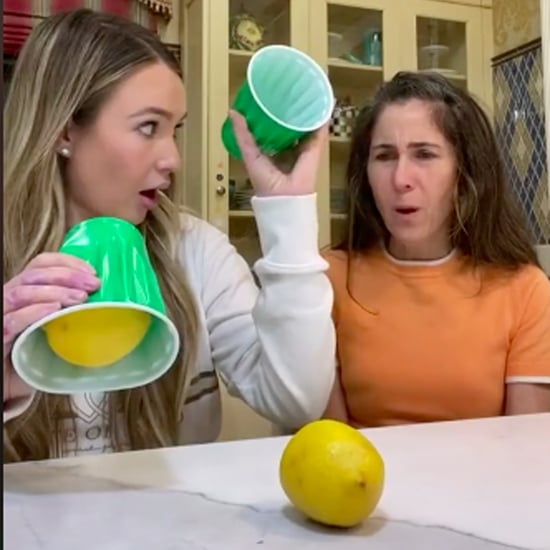 TikTok User Pranks Mum With Lemon Magic Trick | Video