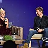Bradley Cooper Talking About Lady Gaga's Pasta on Conan