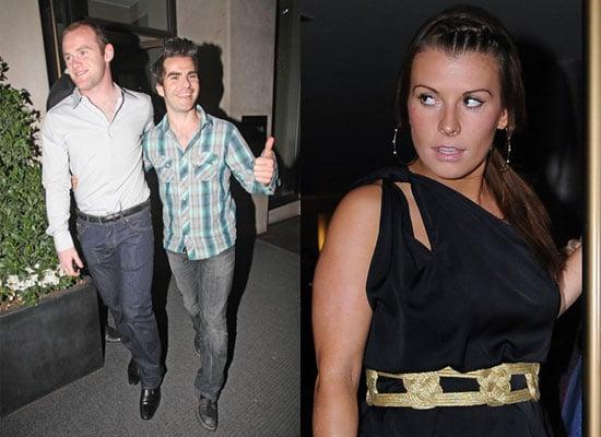 31/5/2009 Coleen and Wayne Rooney with Kelly Jones