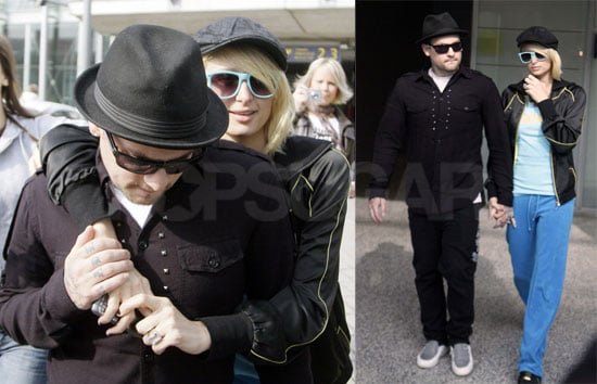 Paris Hilton and Benji Madden in Finland