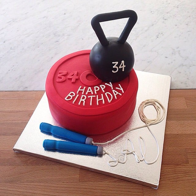 Crossfit Birthday Cake