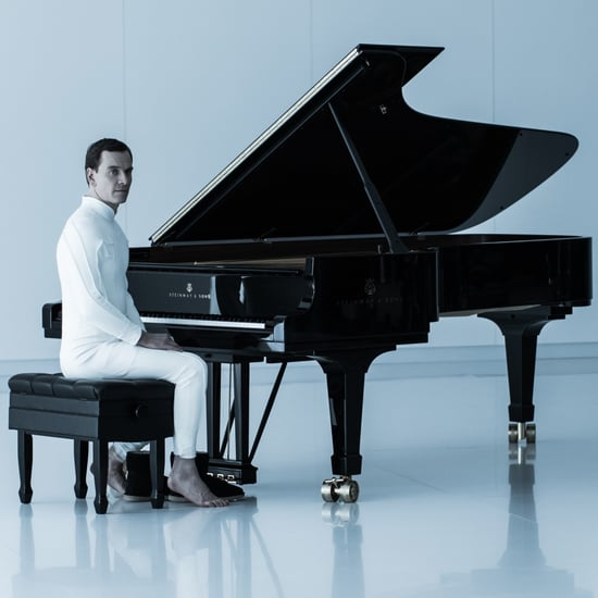Is Michael Fassbender Playing Piano and Recorder in Alien?