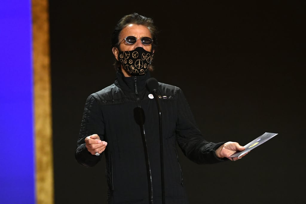 Ringo Starr at the 2021 Grammy Awards