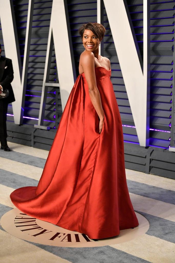 Gabrielle Union's Short Hair 2019 Vanity Fair Oscars Party