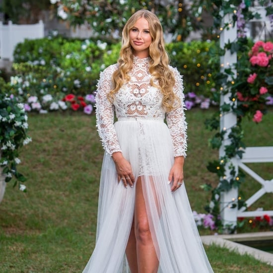 Rachael Dressed as Bride The Bachelor Australia 2019