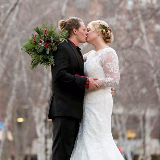 Plaid Holiday Wedding