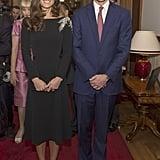 Kate Middleton in Jenny Packham
