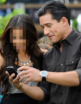 Guess the Celebrity Playing on a Cell Phone