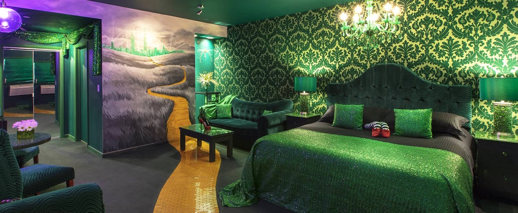 Book Your Magical Stay at This Wizard of Oz Motel Room