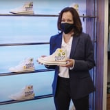 Kamala Harris Sneaker Shopping Complex Video