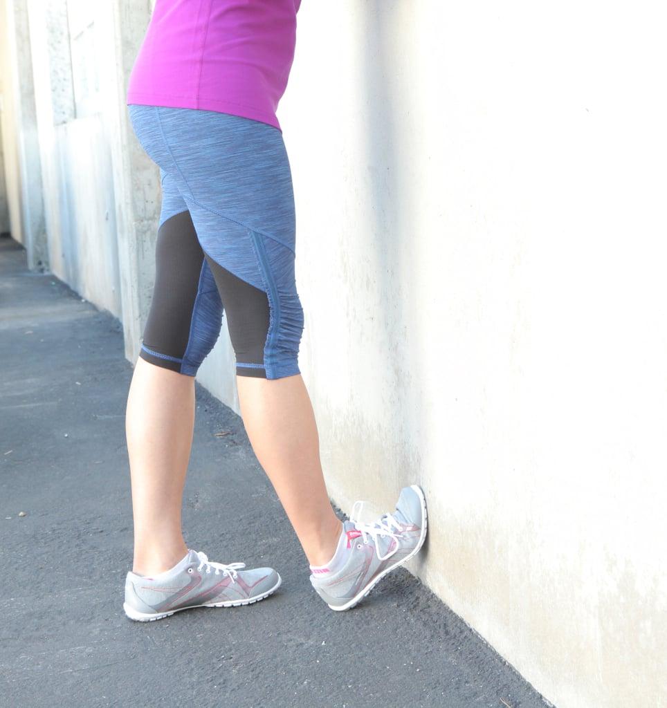 Calves: Wall or Curb Stretch