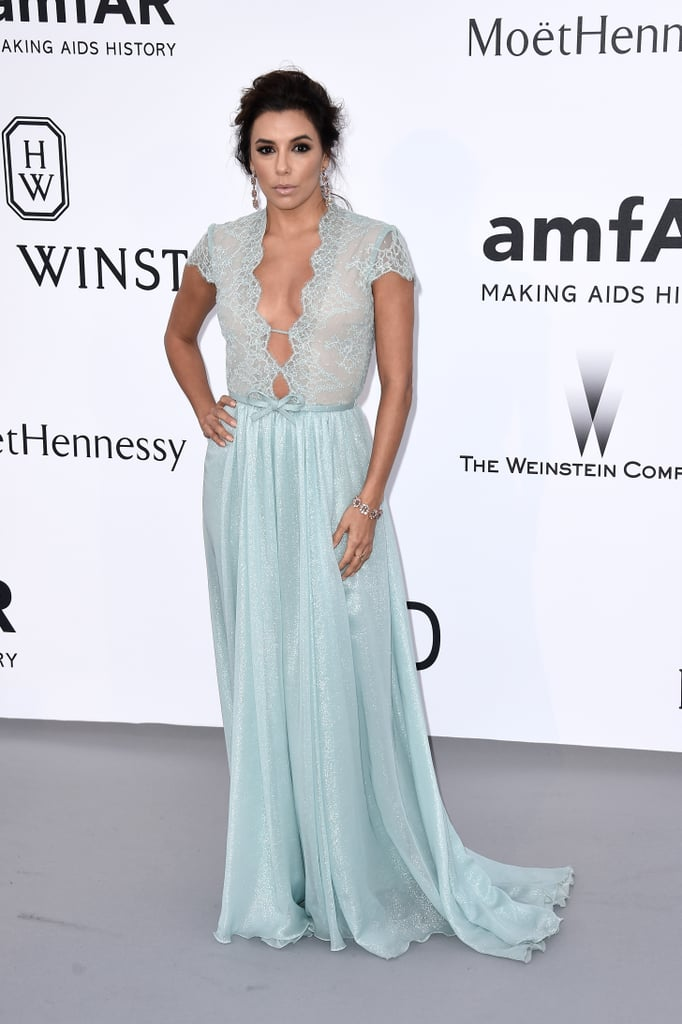 Fabulous Eva Longoria's Style at Amfar Cannes Gala 2015 | POPSUGAR Latina  SQ44