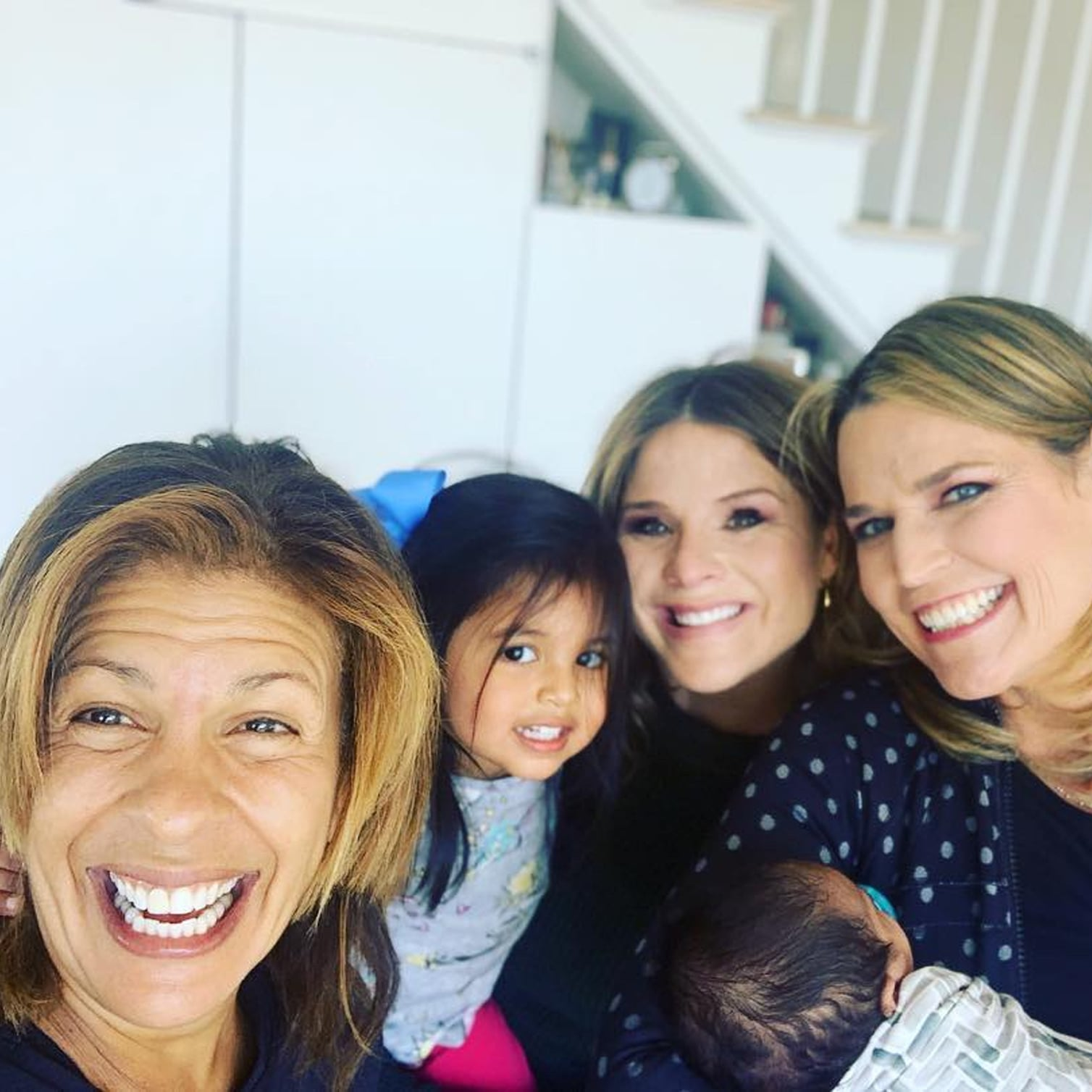 Savannah Guthrie And Jenna Bush Hager Quotes About Hope Kotb Popsugar Family