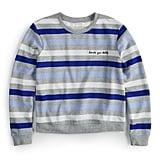 """Love Ya Self"" Striped Sweater"