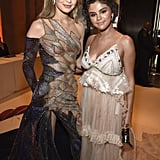 Gigi Hadid and Selena Gomez at the Met Gala 2018