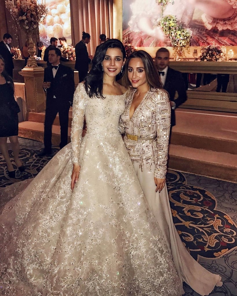 Busra yavuz elie saab wedding dress popsugar fashion middle east busra yavuz elie saab wedding dress junglespirit