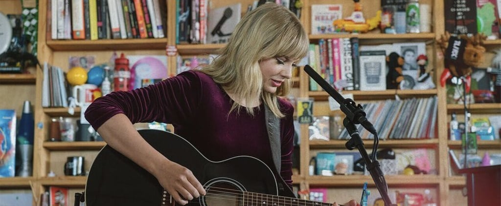 Taylor Swift Wore This Exact Outfit to Her Tiny Desk Concert