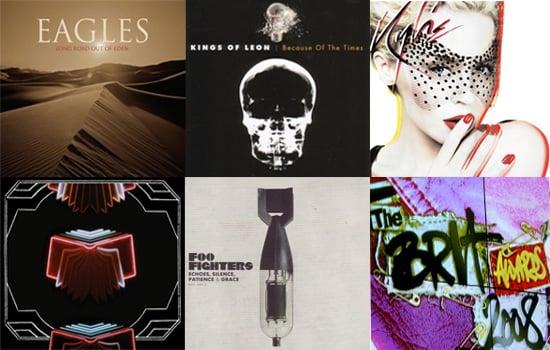 2008 Brit Awards – Best International Album Nominees