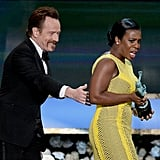 """Then she was like, """"Why is Bryan Cranston trying to steal my award?"""""""