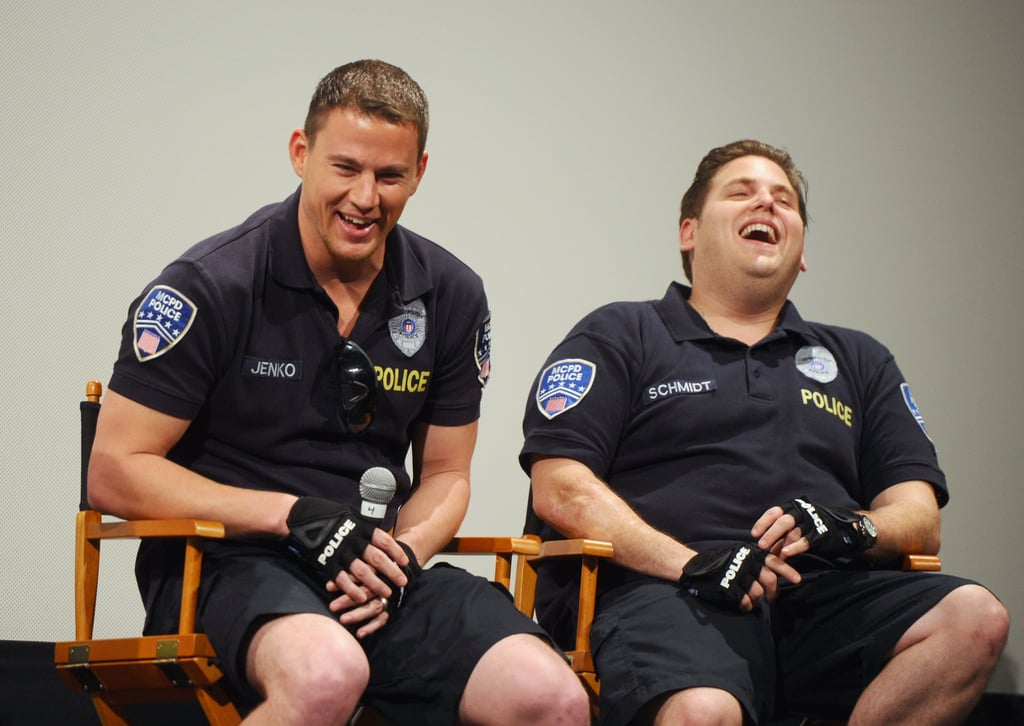 Channing Tatum and Jonah Hill