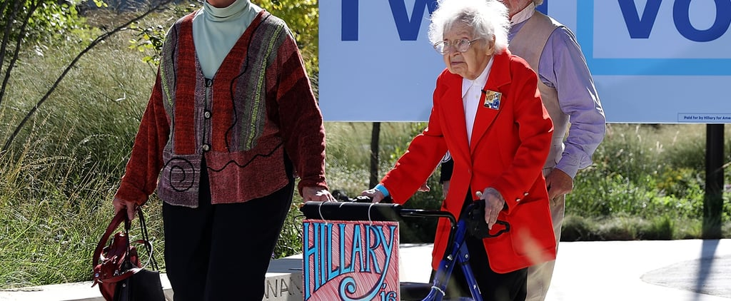 These Women Were Born Before Female Suffrage . . . Now They're Voting For Hillary