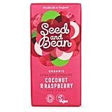 Seed and Bean Coconut and Raspberry Extra Dark Vegan Chocolate