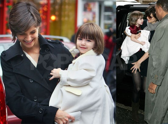 Photos of Katie Holmes and Suri Cruise at Magnolia Bakery and in NYC