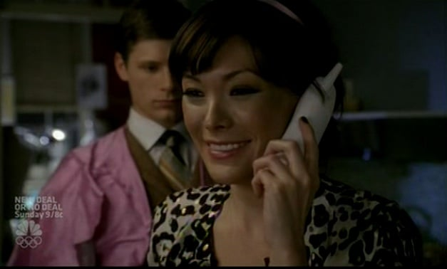 Victory Loves Her Vintage White Cordless Phone