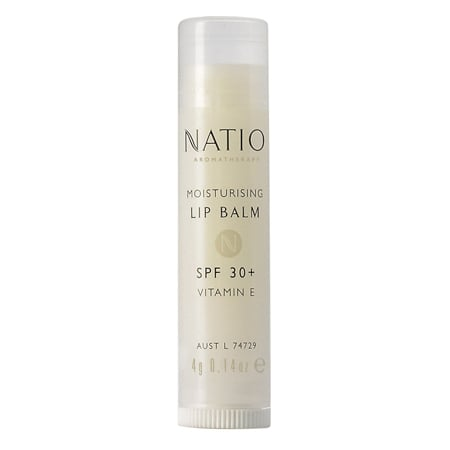 Natio Moisturising Lip Balm SPF 30+, $4.95